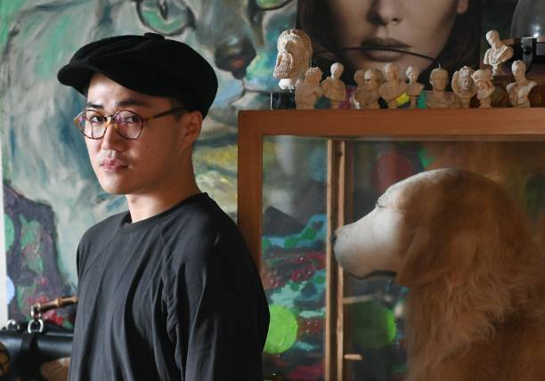CHN: Folk Artist Makes Taxidermy Animals In Hangzhou