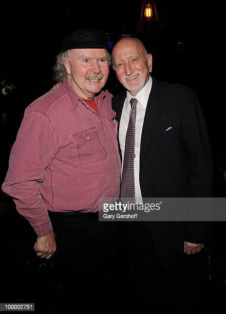 Folk artist Tom Paxton and actor/singer Dominic Chianese attend Cherry Lane Music Publishing's 50th Anniversary celebration at Brooklyn Bowl on May...