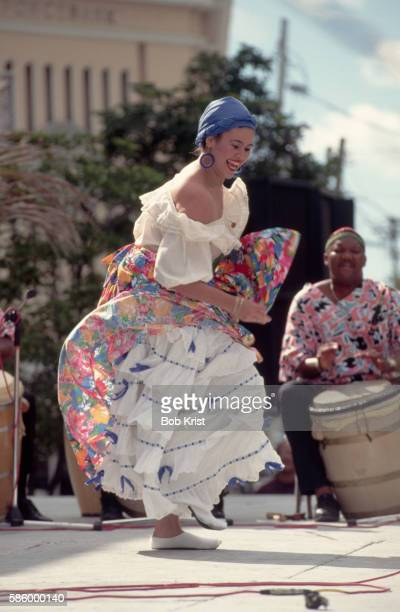 Folk Dancer in Puerto Rico