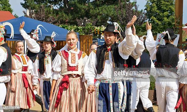 Folk ensemble  dancing and singing