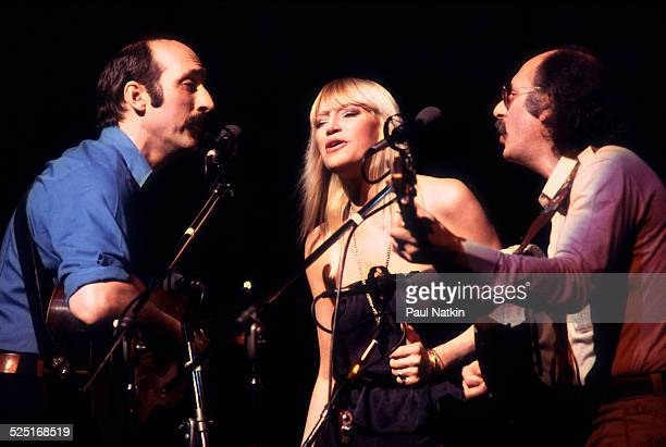 Folk group Peter Paul and Mary perform Chicago Illinois July 31 1983