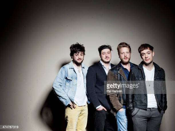 Folk rock band Mumford Sons are photographed for Time Out on April 11 2013 in London England