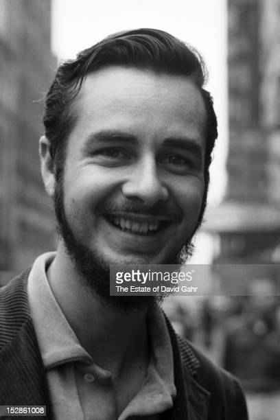 Folk singer and folklorist Paul Clayton poses for a portrait in June 1959 in Greenwich Village New York City New York Paul Clayton's renditions of...