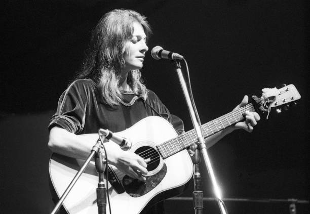 Judy Collins Performing At Newport Folk Festival