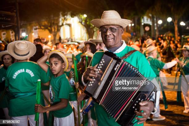 folk traditions, countryside rio de janeiro state - accordionist stock pictures, royalty-free photos & images