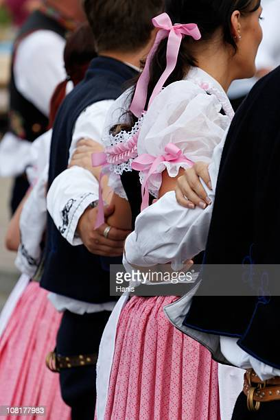 folklore dancing - folk music stock pictures, royalty-free photos & images