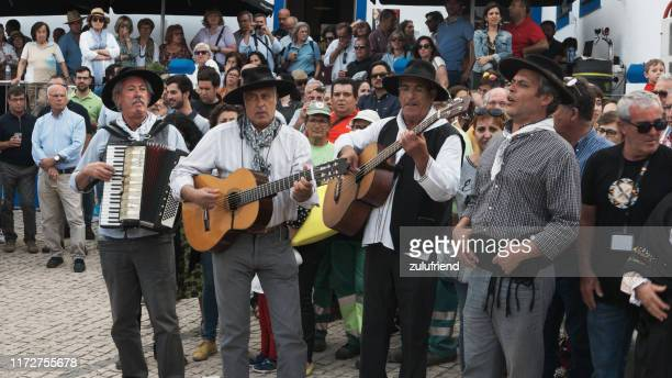 músicos folclóricos - cultura portuguesa - fotografias e filmes do acervo