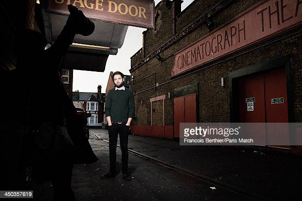 Folkrock singersongwriter Mike Rosenberg better known as Passenger is photographed for Paris Match on October 20 2013 in London England