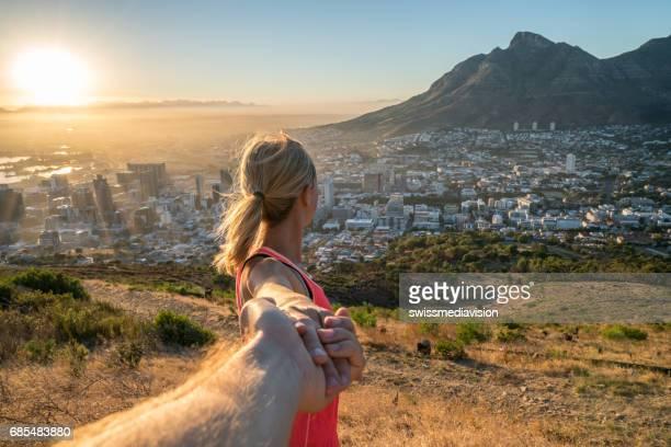 Volg mij concept komt uitvoeren in Kaapstad