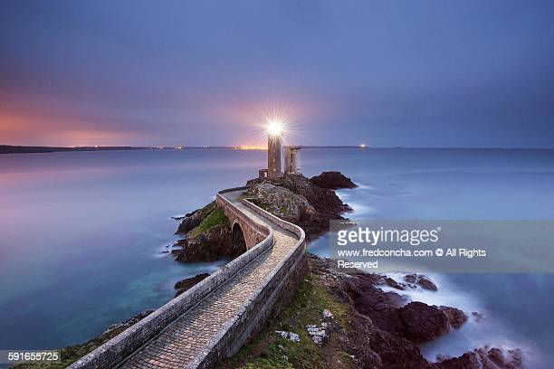 follow the light - brest brittany stock pictures, royalty-free photos & images