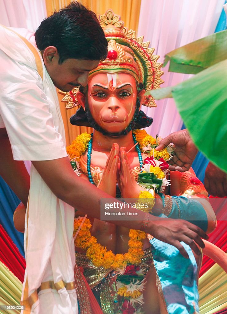 Image result for praying to hanuman