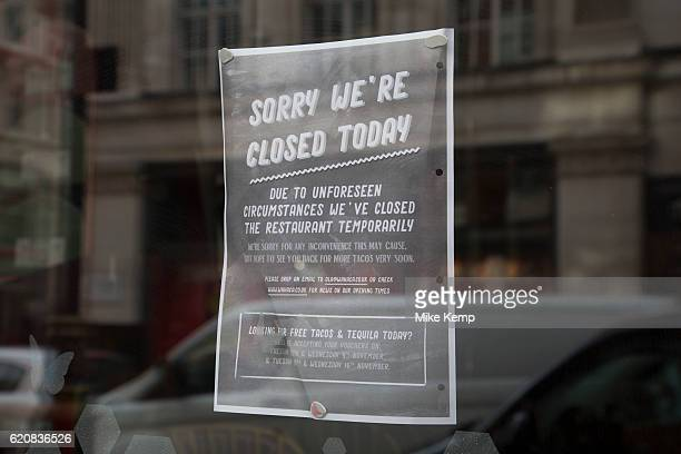 Following a suspected outbreak of norovirus several branches of the Wahaca Mexican food chain were closed after over 350 members of the public and...