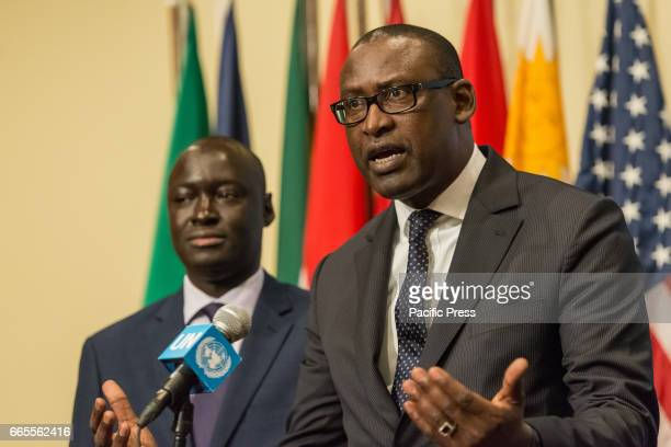 Following a United Nations Security Council meeting regarding the security situation in Mali Malian Foreign Minister Abdoulaye Diop spoke with the...