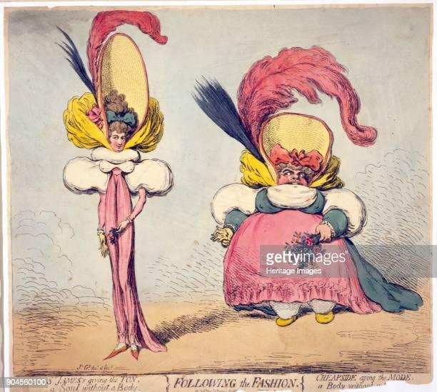 Following Fashion, pub. 1794 .