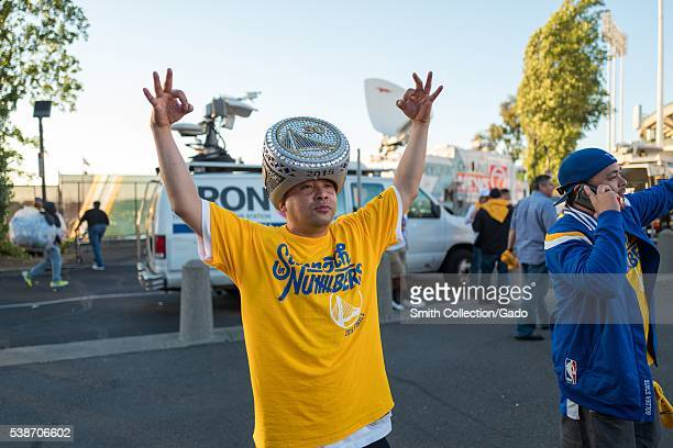 Following Game 2 of the National Basketball Association Finals between the Golden State Warriors and the Cleveland Cavaliers a fan of the Warriors...