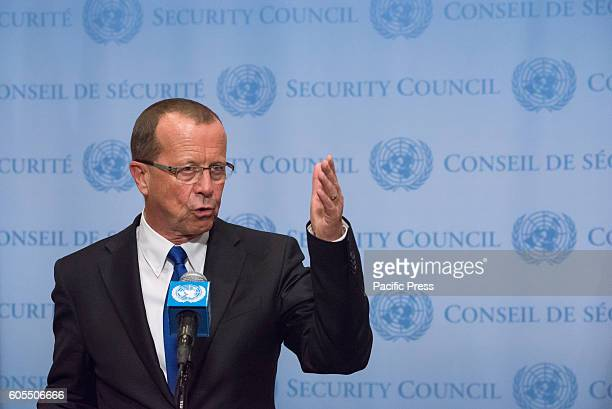 Following his appearance before the United Nations Security Council Martin Kobler Special Representative and Head of the UN Support Mission in Libya...