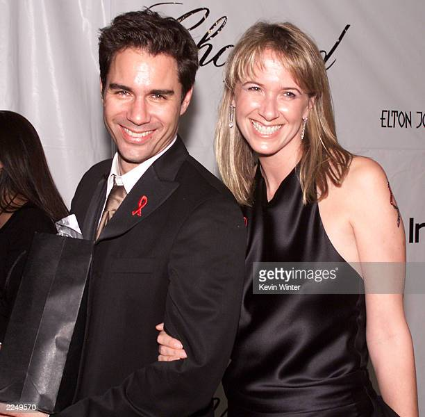 Following the 73rd Annual Academy Awards Eric McCormick and wife Janet at the 2001 Elton John Oscar Party at Moomba Los Angeles Ca 3/25/01 Photo by...