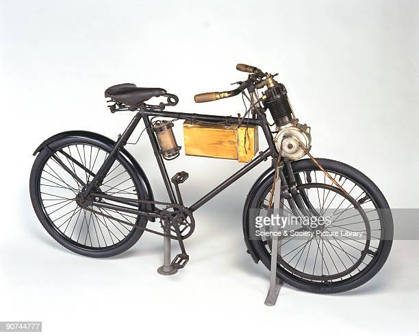 Following the comparatively complicated motor bicycle and motor tricycle designs of the 1890s production of the Werner motorcycle began at Werner...