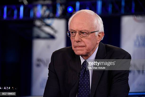 WEEK 12/20/15 Following the Democratic Presidential Debate George Stephanopoulos interviews Senator Bernie Sanders and Governor Chris Christie from...