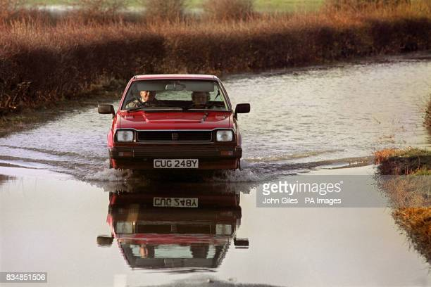Following the heavy snowfalls in Yorkshire a rapid thaw has brought flooding to several areas with many minor roads affected making driving hazardous...
