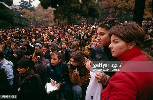 Following the mass protests against the November election results which led to the resignation of President Eduard Shevardnadze as Georgian...