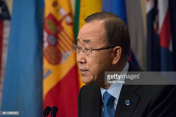 Following the test detonation of a warheadcapacity nuclear device in Punggyeri region of North Korea United Nations SecretaryGeneral Ban Kimoon spoke...