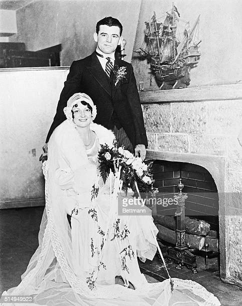 Following their marriage at North Bergen NJ James J Braddock and his bride the former May T Fox have experienced the gamut of matrimonial bliss and...