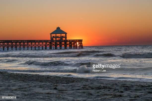 Folly Beach Pier Sunshine