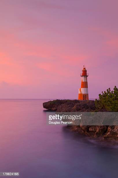Folly Point Lighthouse, Port Antonio, Jamaica