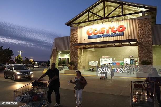 Folsom Costco Wholesale at night
