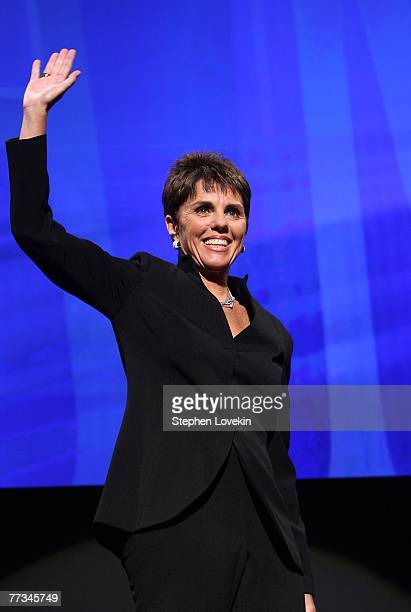 Fomer pro tennis player Ilana Kloss during the Women's Sports Foundation's 28th Annual Salute to Women in Sports at the WaldorfAstoria Hotel on...