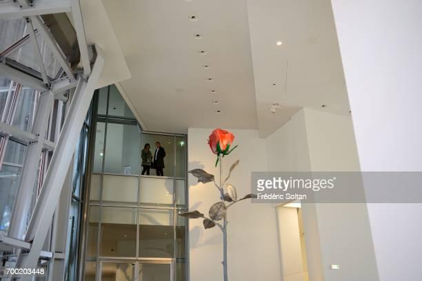 Fondation Louis Vuitton Bois de Boulogne Paris on June 16 2017 in Paris France