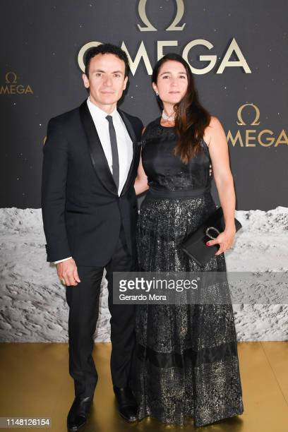 Fonseca and Juliana Posada attend the OMEGA 50th Anniversary Moon Landing Event on May 09 2019 in Orlando Florida