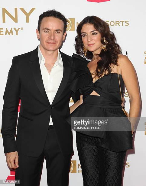 Fonseca and Juliana Posada attends 2016 Latin GRAMMY's Person Of The Year honoring Marc Anthony at the MGM Grand on November 16 2016 in Las Vegas...
