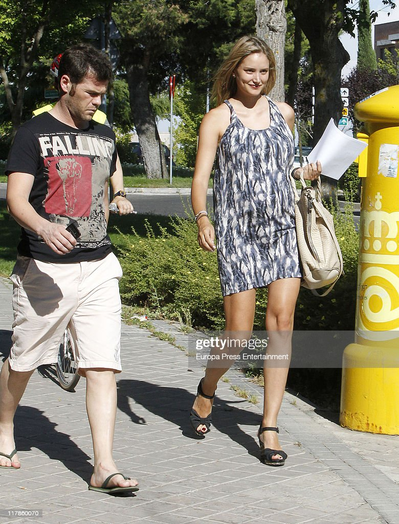 Celebrity Sighting in Madrid - July 1, 2011