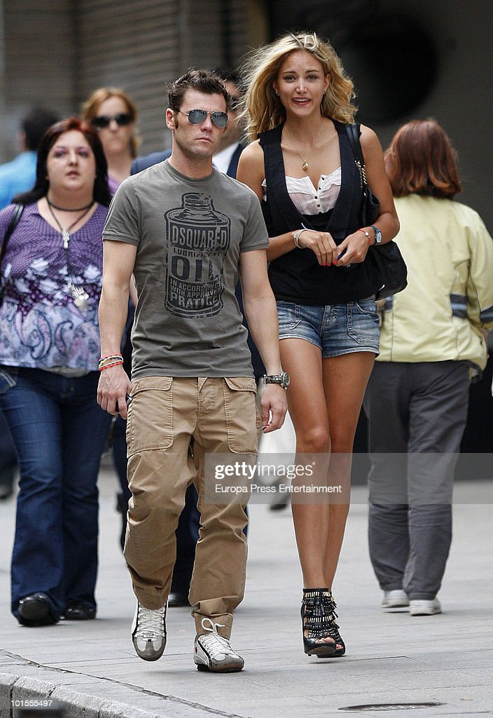 Fonsi Nieto And Alba Carrillo Sighting In Madrid - June 2, 2010