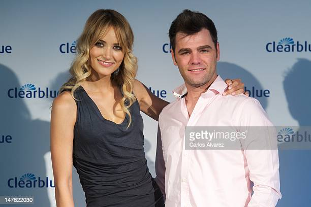 Fonsi Nieto and Alba Carrillo attend Que Enciende Tu Pasion awards at ABC museum on July 4 2012 in Madrid Spain