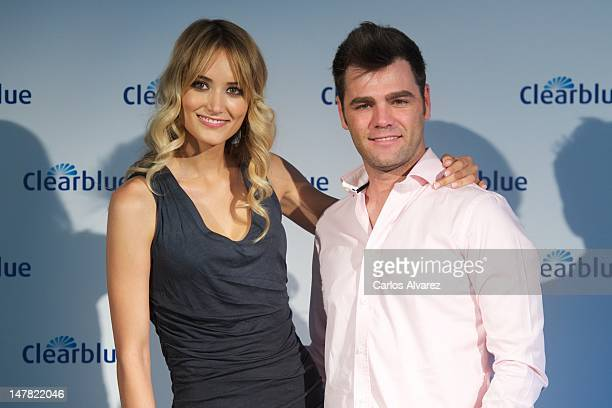 """Fonsi Nieto and Alba Carrillo attend """"Que Enciende Tu Pasion"""" awards at ABC museum on July 4, 2012 in Madrid, Spain."""