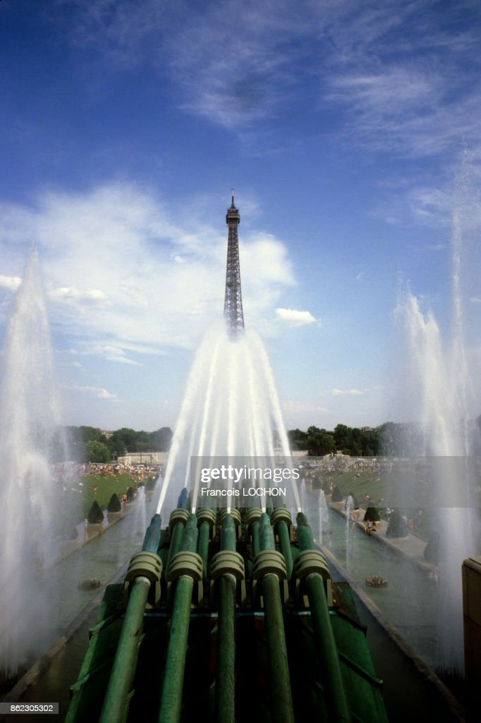 La tour Eiffel vue du Trocadéro Pictures | Getty Images