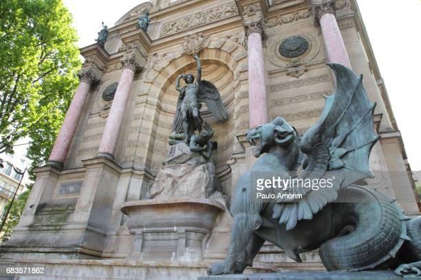 Fontaine Saint-Michel in Paris