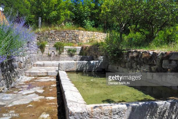 Fontainelavoir au hameau de la Souche CompssurArtuby Var PACA ProvenceAlpesCôte d'Azur France