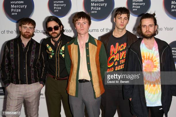 Fontaines D.C attend The 2019 Hyundai Mercury Prize: Albums of the Year at the Eventim Apollo, Hammersmith, on September 19, 2019 in London, England.