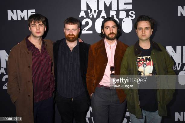 Fontaines DC attend the NME Awards 2020 at O2 Academy Brixton on February 12, 2020 in London, England.