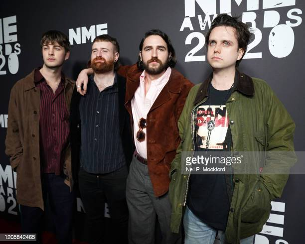 Fontaines DC attends the NME Awards 2020 at O2 Academy Brixton on February 12, 2020 in London, England.