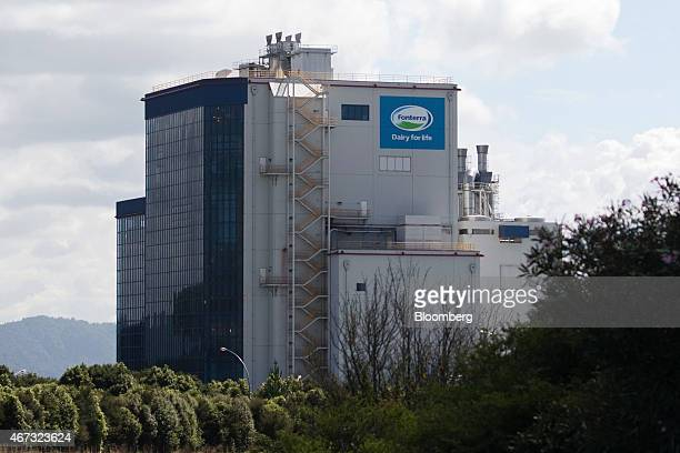 A Fonterra Cooperative Group Ltd processing plant stands in Hamilton New Zealand on Thursday March 19 2015 Fonterra the world's biggest dairy...