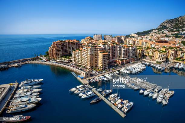 Fontvieille and the New Harbor, Monte-Carlo, Monaco