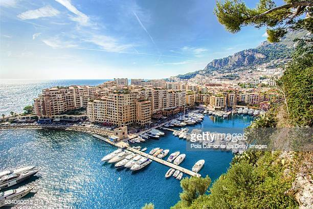 fontvieille, monaco, monaco - monaco stock pictures, royalty-free photos & images