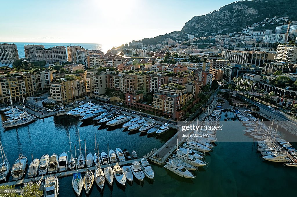 Fontvielle, Monaco harbour : Photo