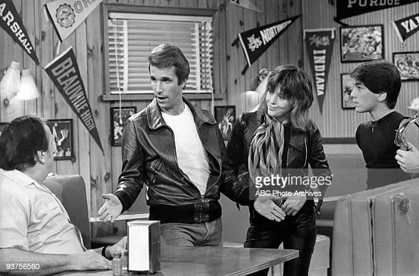 DAYS Fonzie and Leather Tuscadero 11/8/77 Al Molinaro Henry Winkler Suzi Quatro Scott Baio