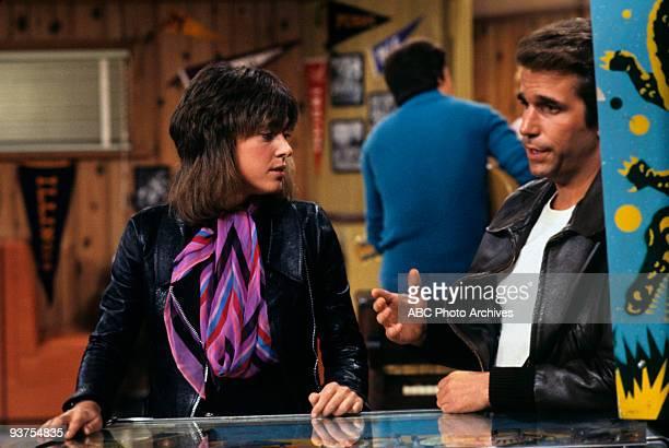 DAYS Fonzie and Leather Tuscadero 11/8/77 Suzi Quatro Henry Winkler